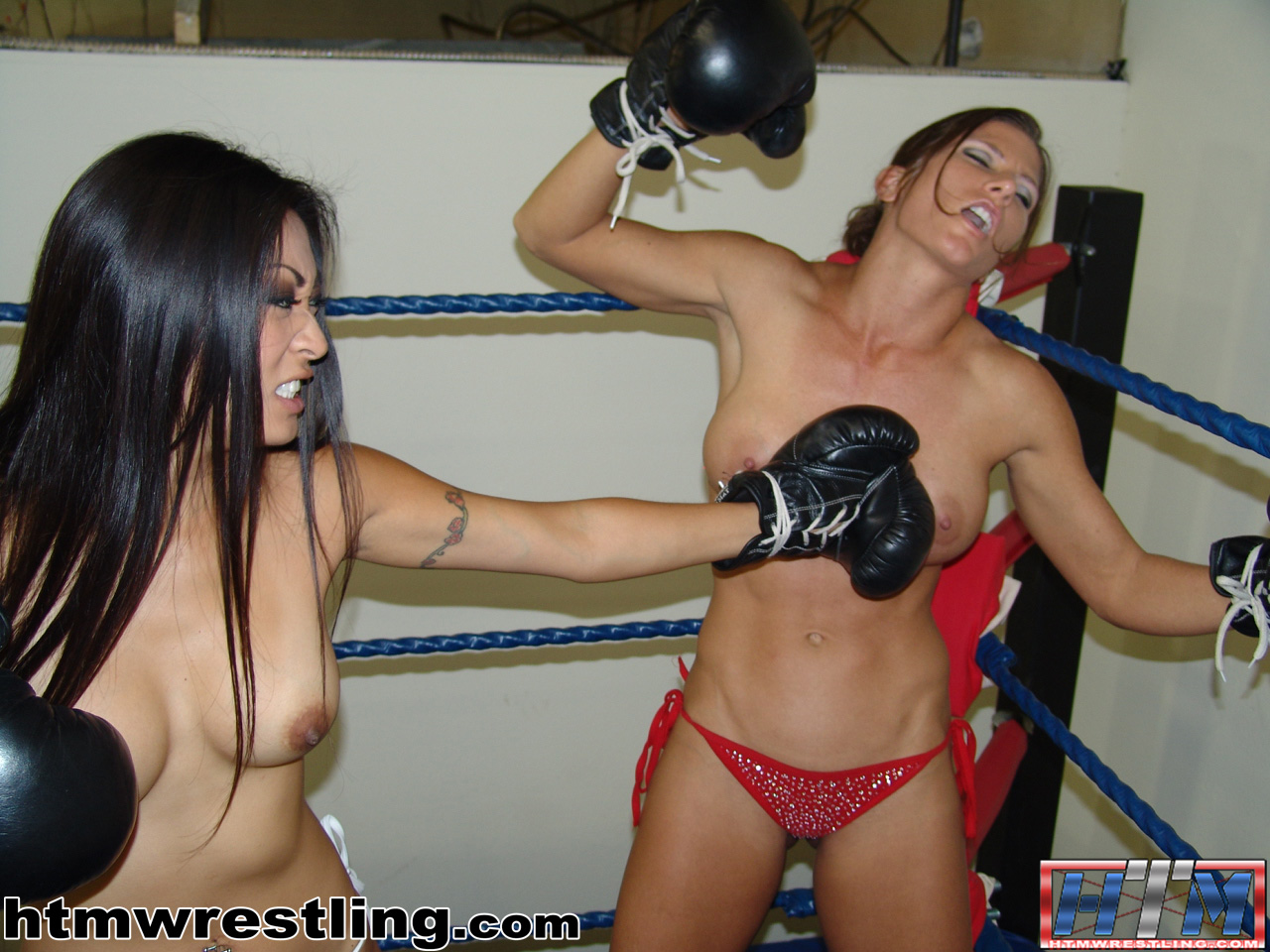 boxing girls foxy Topless