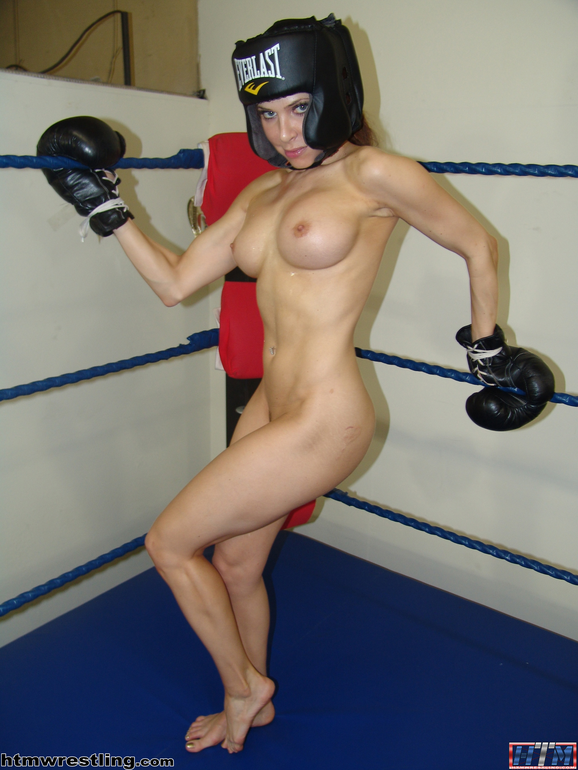 image Scarlett vs goldie topless boxing full requested