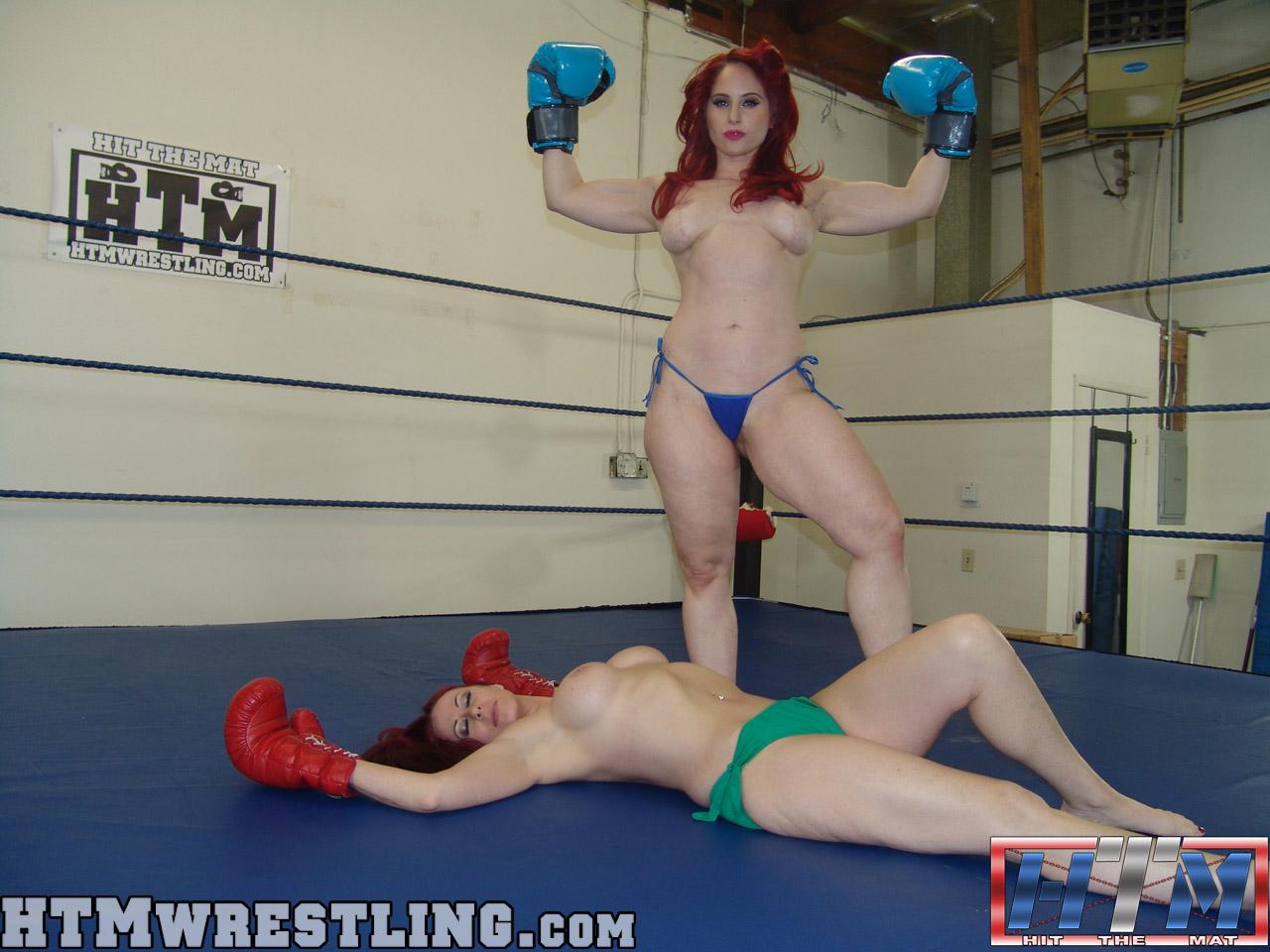 Alaskan women topless boxing 9