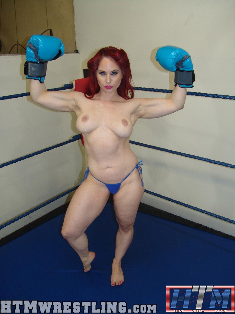 Foxy Boxing Porn - ... Andrea Rosu Topless Foxy Boxing ...