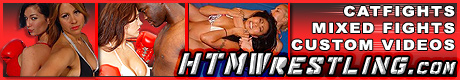 Catfights and Mixed Fights at HTMwrestling.com