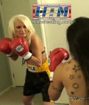 Amanda vs Nicole Female Boxing