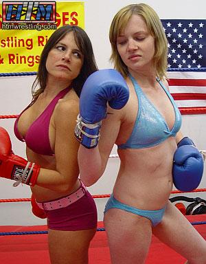 Helena vs Onyx Female Boxing