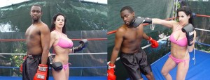 Shannon vs Darrius Mixed Boxing