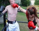 Femdom Mixed Boxing