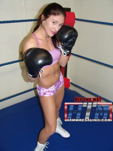 Pro Boxer Hollie Dunaway Mixed Boxing