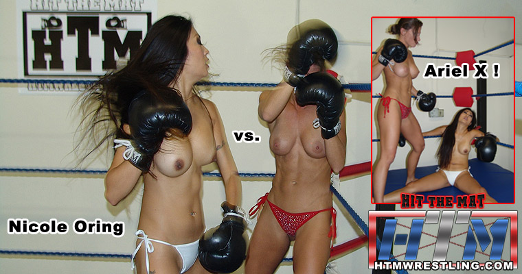 Topless Foxy Boxing