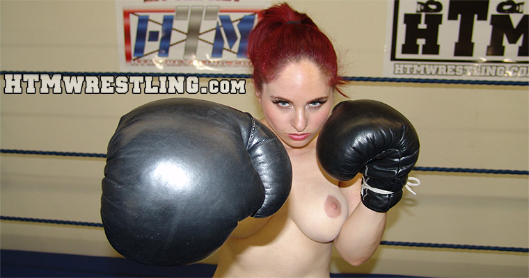 Topless Boxing Women Andrea Rosu