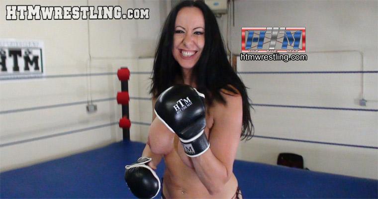 Topless Femdom POV MMA