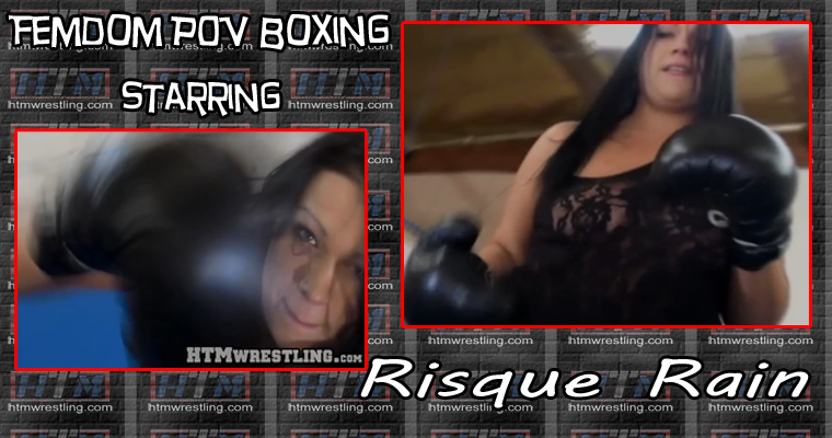 Femdom POV Boxing BBW