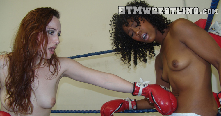 Female Boxing Foxy Topless