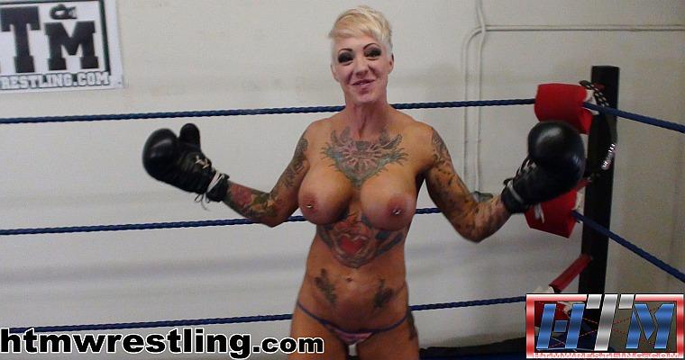 Femdom POV Topless Boxing Duchess Dani