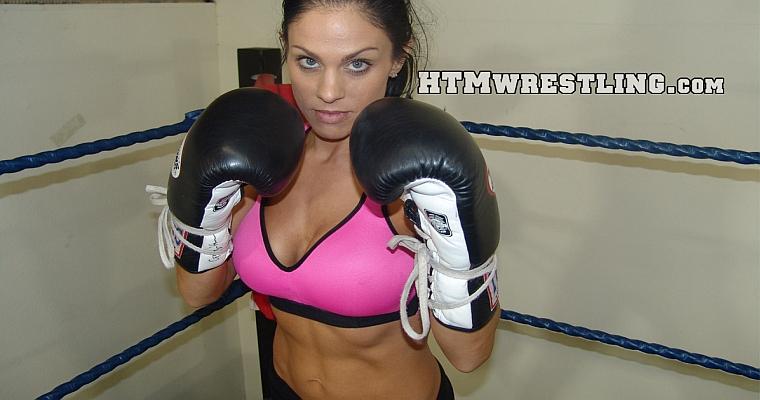 Fitness Model Boxer MMA Fighter