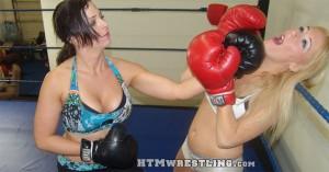 Amber O'Neal vs Serena Deeb