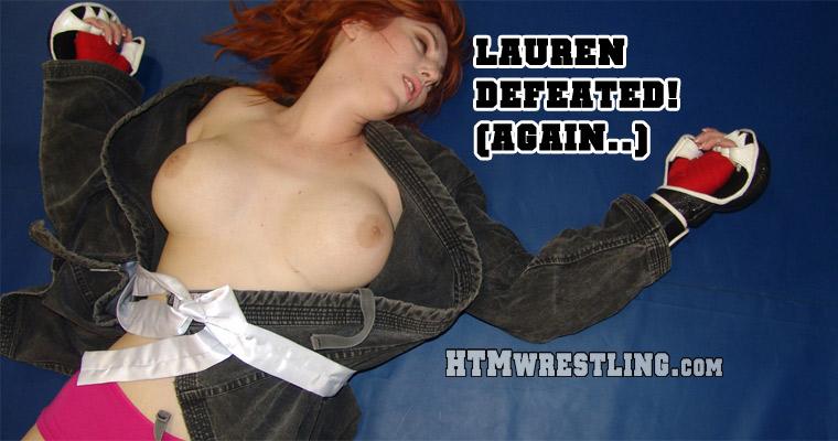 Karate POV Lauren Phillips Defeat