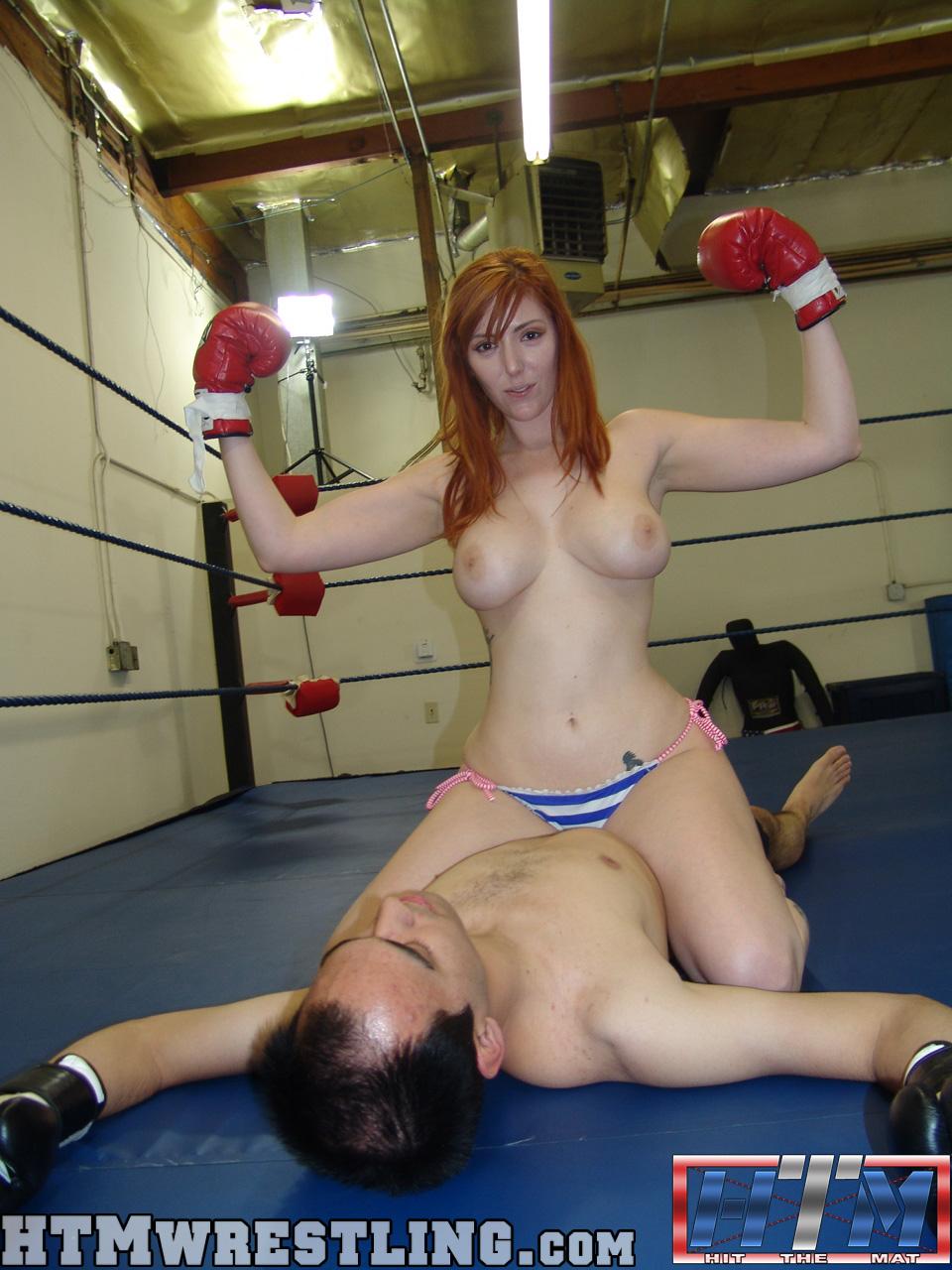 mixed boxing nude