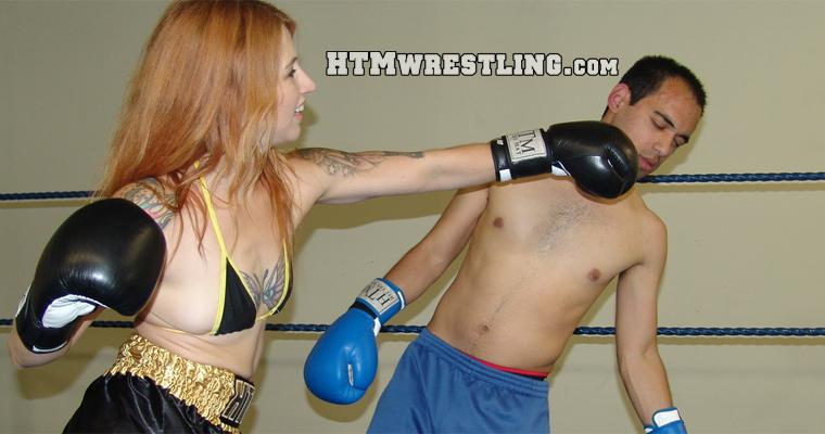 Femdom Mixed Boxing Beatdown
