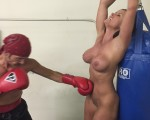 boxing bondage Christina Bound