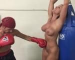 boxing bondage Christina Bound