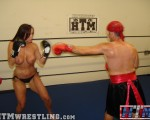 Topless Mixed Boxing