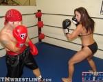 Christina Carter vs Rusty