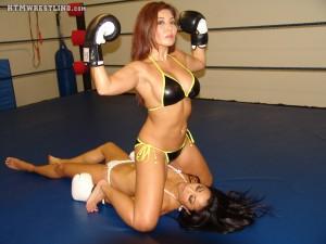 Boxing Asian Girls