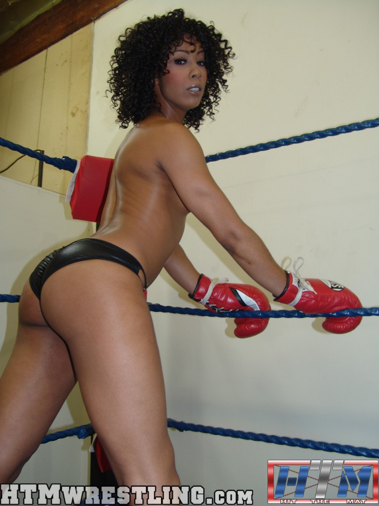 from Amare ebony nude boxing video