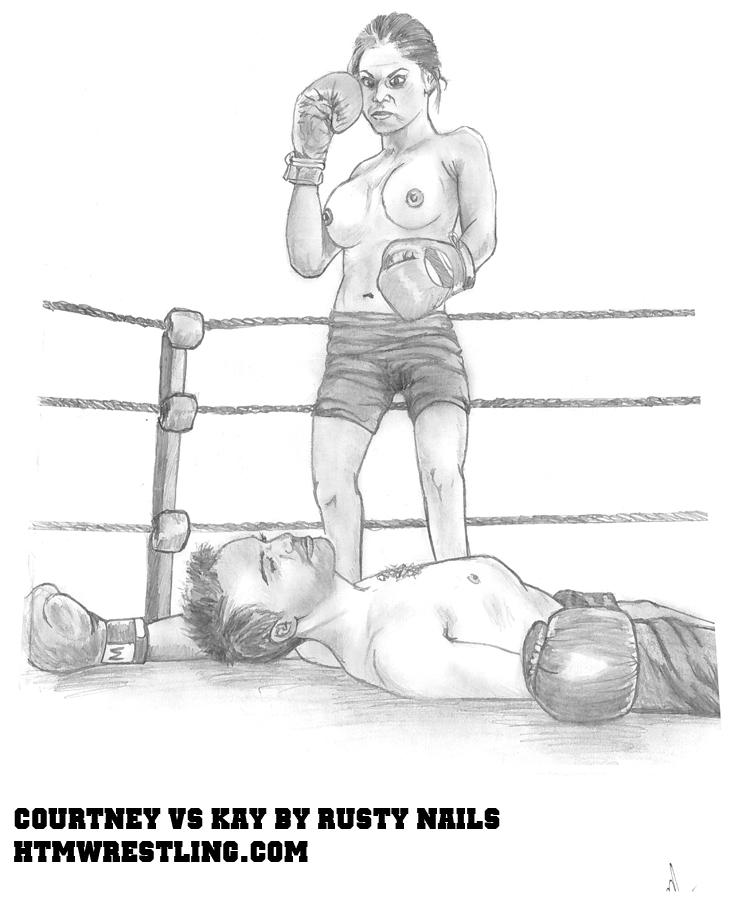 Courtney vs Kay by Rusty
