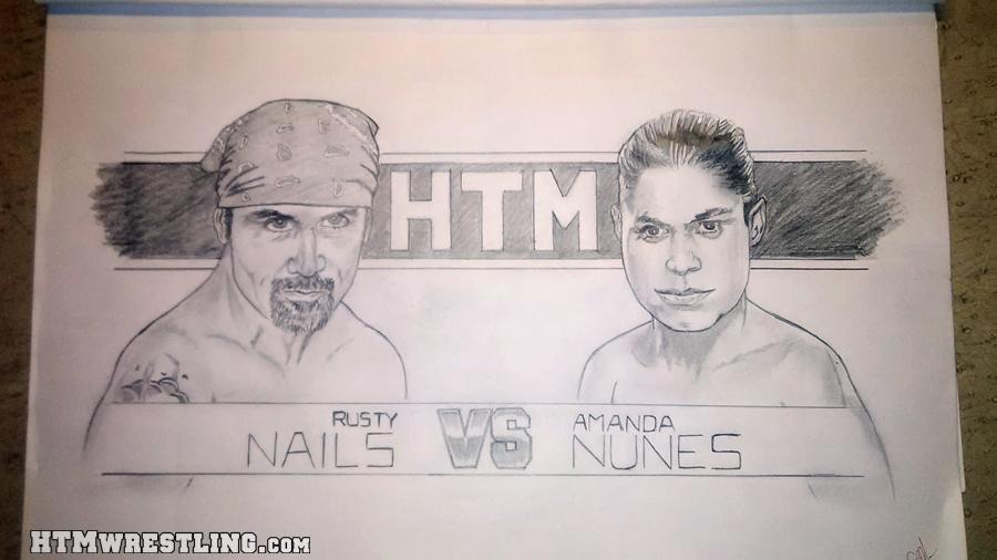 Rusty Nails vs Amanda Nunes