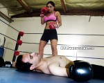 Femdom Mixed Boxing Courtney vs Kay