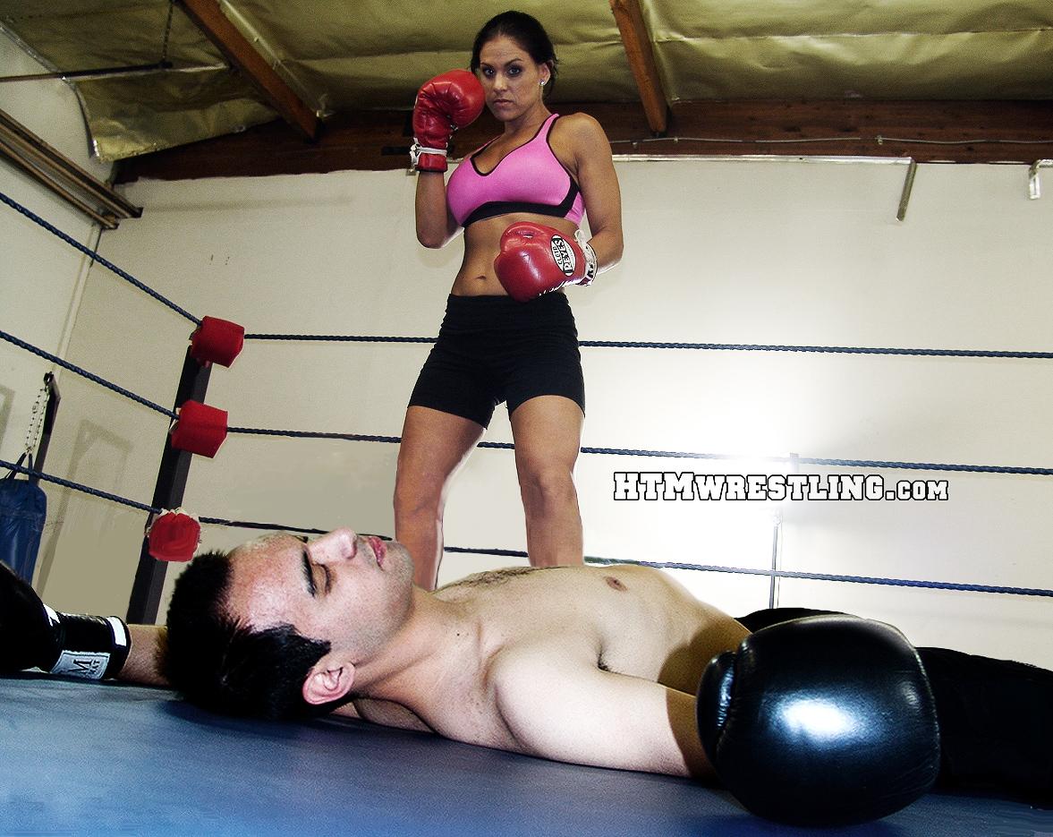 Femdom sex with bbw boxers