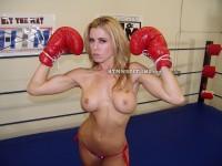 Randy Moore Topless Boxer Flexing