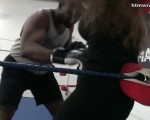 Belly Punching Mixed Boxing