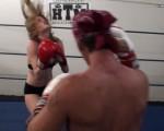 Ashley vs Rusty Boxing
