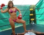 Akira Lane Femdom Mixed Boxing